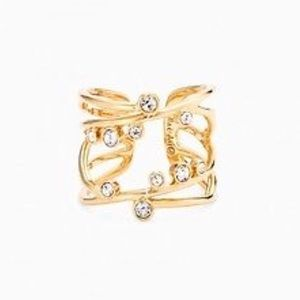 Stella & Dot Celestial Ring Gold Diamond